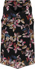 Ladies Sleeveless Strappy Lined Vest Top Dip Hem Butterfly Print New Casual Dres