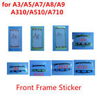 (50PCS) for Samsung A3 A5 A7 A310 etc Front LCD Frame Adhesive Sticker Glue Tape