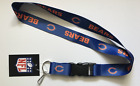 NFL Keychain Lanyard Chicago Bears Sports Team Football Apparel S2