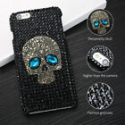 Crystal Skull Hard Back Phone Case Cover For iPhone 6 6S 7 Plus Samsung S6 S7