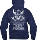 The Vikings Prayer - Valhalla S Glory All Father Make Gildan Hoodie Sweatshirt