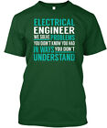 Electrical Engineer Solve Problems Engineering You Hanes Tagless Tee T-Shirt