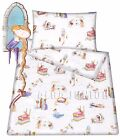 Baby toddler cot/ cot bed set duvet cover pillowcase 100% cotton Princes pink