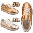KIDS GIRLS RUNNING TRAINERS CASUAL SHINY PARTY SCHOOL SPORTS FASHION SHOES SIZE