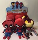 Funko Hero Plushies SPIDER MAN HOMECOMING Single 8in Plush Figure NEW In Stock