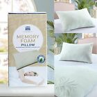 DICKENS ALOE VERA SHREDDED MEMORY FOAM PILLOW WITH REMOVABLE COVER