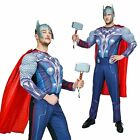 Thor Muscle The Avengers Age of Ultron Marvel Comics Superhero Men Fancy Costume