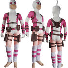 Girls Deadpool Costume Comic The Unbelievable Gwenpool Cosplay Halloween Outfit