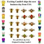Amazing Lotus Flower Musical Birthday Candle - 16 DIFFERENT COLORS & STYLES