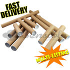 QUALITY CARDBOARD POSTAL POSTER TUBES A0 A1 A2 A3 A4 IN 44.5mm WITH END CAPS