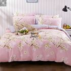 Pear Floral Quilt Duvet Cover Set Single/Double/Queen/King Size Bed Doona Cover