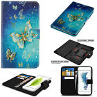 Premium Flip Wallet Leather Stand Universal Case Cover for HTC Mobile Phones