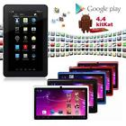 "7"" Android 4.4 8GB Dual Cameras Quad Core WiFi Kids Child Tablet PC For Gifts BC"