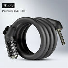 Cycling Lock 5 Letters Code Lock Lock 1.8M 1.2M Anti Theft Password Coiled Cable