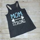 """Sale -  RealChicksRule™ """"Mom Strong"""" Graphic Tank"""