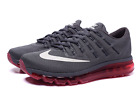 NEW! MENS NIKE AIR MAX 2016 Running Shoe 806771 016 Grey/Red