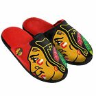 NHL Split Color Slide Slippers by Forever Collectibles Select Team & Size Below