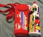 Nwt Disney insulated holder with Aluminum Water Bottle