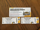2 TICKETS PITTSBURGH PENGUINS SNAPSHOTS WITH STANLEY CUP 7/8/17 2 PM-7 PM