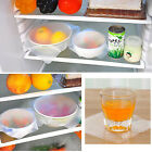 Silicone Wraps Seal Cover Stretch Cling Film Bowl Dish Food Protector Recyclable