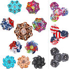 Camouflage Spin Tri-Spinner Fidget Toy Gift EDC Hand Spinner Stress Relieve ADAD