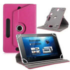 "360°UNIVERSAL Folio LEATHER Stand CASE COVER FOR 7"",8"",9"",9.7""10.1""ANDROID TABLE"