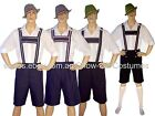 MEN'S LEDERHOSEN OKTOBERFEST FANCY DRESS COSTUMES HAND MADE BY SHOW-OFF COSTUMES