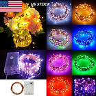2m / 5m / 10m  Copper Wire Aa Battery Fairy String Light Christmas Party Decor