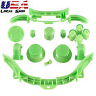 Custom RB LB ABXY Guide Buttons Parts Dpad For Xbox 360 Controller Matte Green