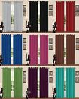 Luxurious THERMAL BLACKOUT EYELET CURTAINS Readymade Fully Lined Ring Top
