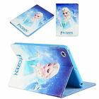 NEW Frozen Kids Cartoon Leather TPU Cover Case For iPad 2 3 4 5 6 7 Air Mini Pro