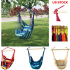 Swing Hammock Chair Seat Indoor Outdoor Garden Patio Yard Single Hanging Rope US