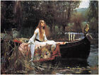The Lady of Shalott by John Waterhouse (classic print)