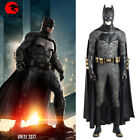 DFYM Justice League Batman Deluxe Leather Outfit Cosplay Costume Custom Made