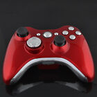 For Microsoft Xbox 360 Buttons Controller Housing Case with Buttons Red & Black