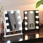 5X Magnifying Makeup Mirror LED Vanity Hollywood Dimmer Stage Touch Beauty 25*30