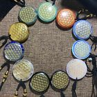 Wholesale Quartz Crystal Flower of Life Pendant Healing