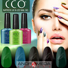 CCO UV LED NAIL GEL POLISH VARNISH SOAK OFF TOP BASE COAT NEW COLOURS