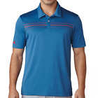 Adidas ClimaCool Chest Print Polo Shirt - Core Blue/Dark Slate