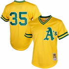 Ricky Henderson Oakland Athletics Mitchell & Ness 1984 Batting Practice Jersey on Ebay