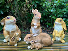 Duck Garden Ornament Polyresin Patio Countryside Bird Animal Sculpture 2 Types