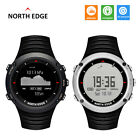 North Edge Altay Sports Smart Outdoor Compass Wrist Watch Back Light For Fishing