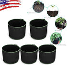 Fabric Pots Plant Grow 5 Bags Containers Smart Plant 5 15 25 Gallon W/ Handle