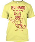 Gym/body Fitness - Go Hard Or Home Premium Tee T-Shirt