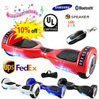 6.5'' Bluetooth Led Hoverboard UL 2272 Certified Self Balancing Electric Scooter
