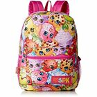 Shopkins Girls All Over Print Backpack Elementary Middle Back to School
