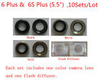 10X Rear Back Camera Lens Glass Ring Cover Flash for iPhone 4S 5 5G 5S 6 6S Plus
