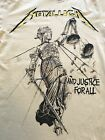 "H&M METALLICA "" And Justice For All "" T-Shirts NEW With Tag Sizes S, M, L, XL  image"