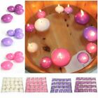 Pack of 20 Small Round Floating Candles