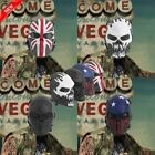 basketball face masks - Skull Full Face Mask Airsoft Eye Protection Ghost Mask Tactical Paintball Gear H